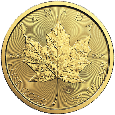 1 oz Canadian Gold Maple Leaf