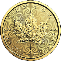 1/2 oz Canadian Gold Maple Leaf