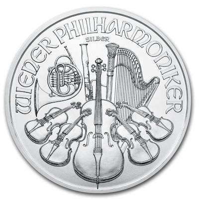 2018 1 oz Austrian Silver Philharmonic