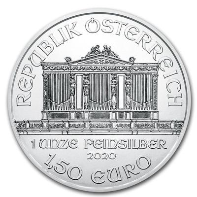 2019 1 oz Austrian Silver Philharmonic Reverse