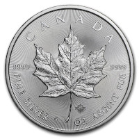 2019 1 oz Canadian Silver Maple Leaf