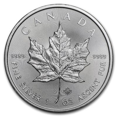 2017 1 oz Canadian Silver Maple Leaf