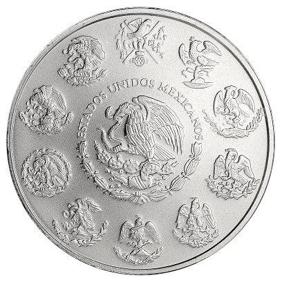 2019 1 oz Mexican Silver Libertad Reverse