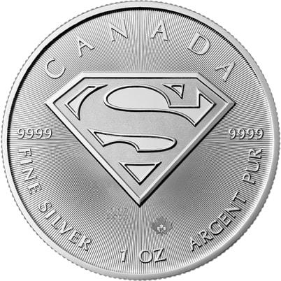 2016 1 oz Canadian Superman