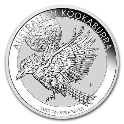 2018 1 oz Australian Silver Kookaburra