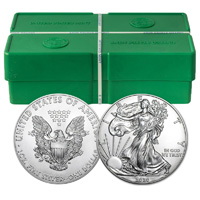 2018 500 oz American Silver Eagle Monster Box