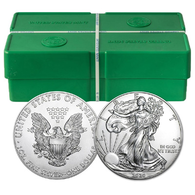 2019 500 oz American Silver Eagle Monster Box