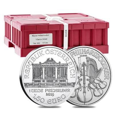2019 500 oz Austrian Philharmonic Monster Box