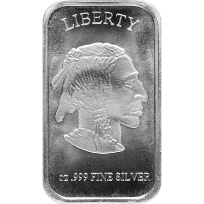 1 oz Buffalo Silver Bar