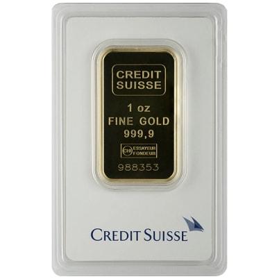 1 oz Credit Suisse Gold Bar