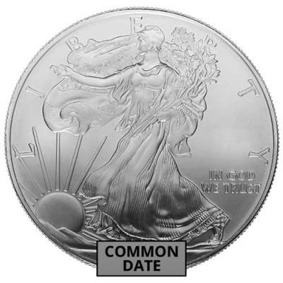 1 oz Secondary Market Silver Bars (100 oz Min.)