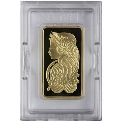 5 oz PAMP Suisse Fortuna Gold Bar