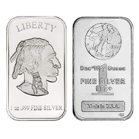 1 oz New Silver Bar