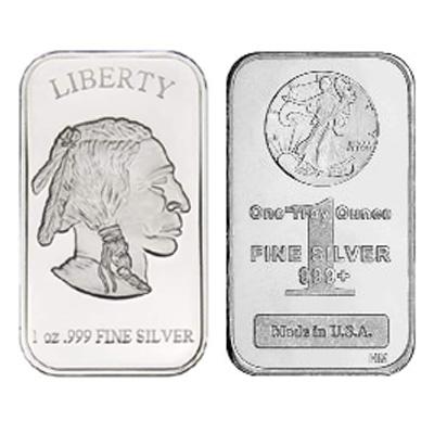 1 oz New Silver Bar