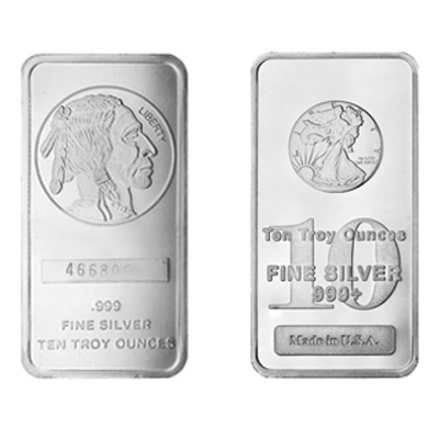 10 oz New Silver Bars