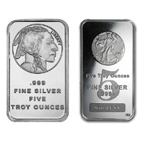 5 oz New Silver Bar