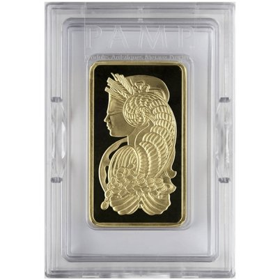 10 oz PAMP Suisse Fortuna Gold Bar Obverse