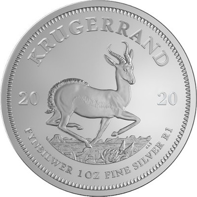 2019 1 oz South African Krugerrand Obverse